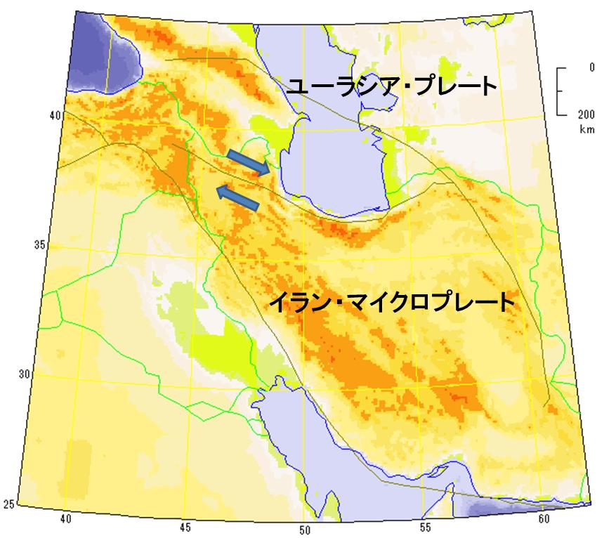 イラン北西部地震